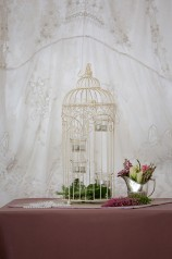 Bird Cage with Tea Light Holders