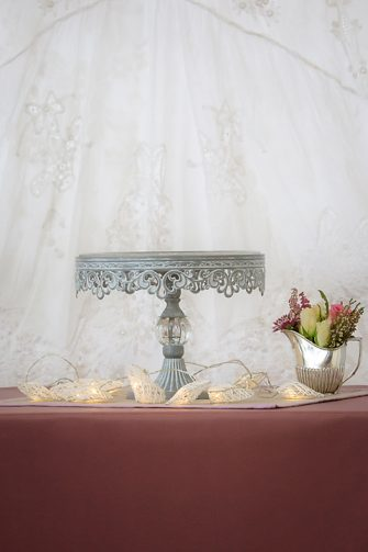 Antique Grey Cake Stand