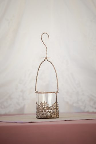 Hanging Votive with Glass Insert