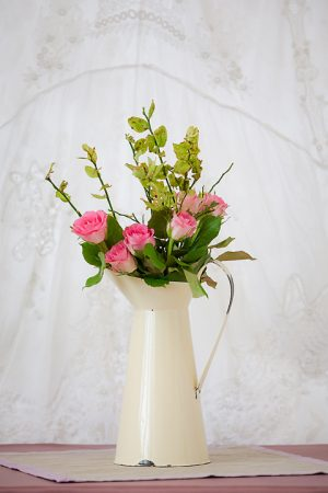 Cream Distressed Jug