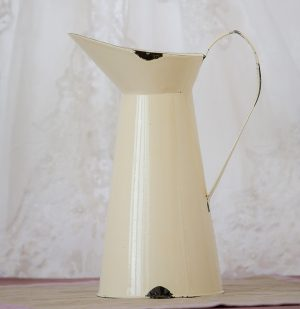 Distressed Cream Jug Plain