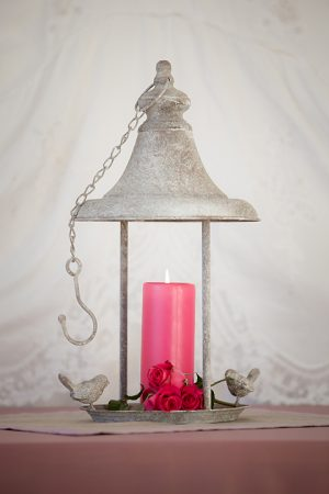 Hanging Bird Feeder Candle Holder