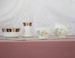 vintage china jug & bowl