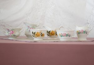 Vintage china jug & bowl
