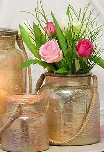 gold hurricane jars